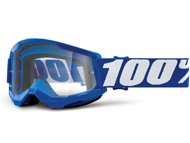100% Strata Anti-Fog Goggles Gen2 Jugend blue/clear